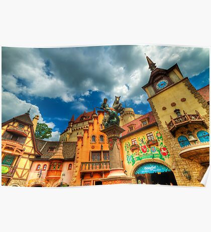 EPCOT - GERMANY Poster