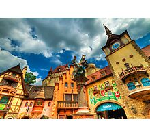 EPCOT - GERMANY Photographic Print