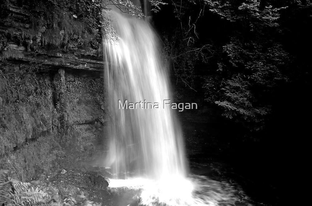 Glencar Waterfall by Martina Fagan