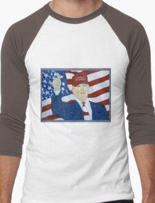 Standing up for America Men's Baseball ¾ T-Shirt