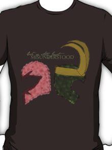 We're All Just Misunderstood (#nephierb) T-Shirt