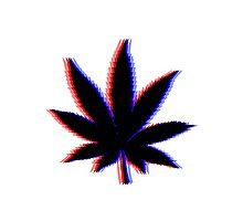 Weed 3D Photographic Print