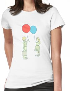le ballon rouge Womens Fitted T-Shirt