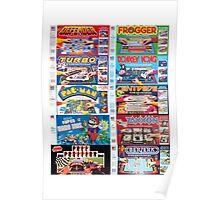 Arcade Board Games Poster