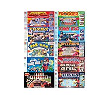 Arcade Board Games Photographic Print