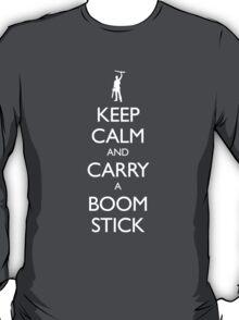 Keep Calm and Carry a Boom Stick T-Shirt