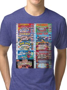 Arcade Board Games Tri-blend T-Shirt