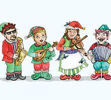 Santa's Band of Elves by Kim  Harris