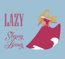 I'm not lazy I'm sleeping beauty Kids Clothes