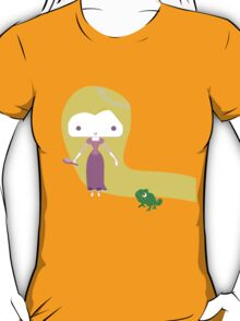 Tangled Rapunzel with Pascal T-Shirt