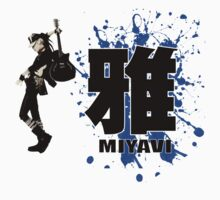 Miyavi Blue Splash by Juka08