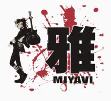Miyavi Red Splash by Juka08