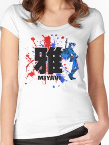 Blue Mist Of Miyavi Women's Fitted Scoop T-Shirt