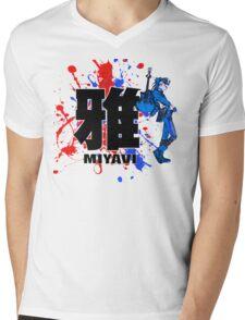 Blue Mist Of Miyavi Mens V-Neck T-Shirt