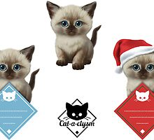 CataClysm - Siamese - Sticker Set by Iker Paz Studio