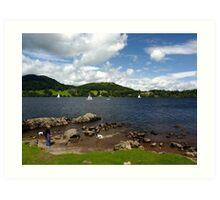 Lake Ullswater - Cumbria Art Print
