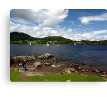 Lake Ullswater - Cumbria Canvas Print