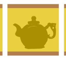 3 Chinese Teapots Sticker