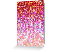Mosaic Sparkley Texture Greeting Card