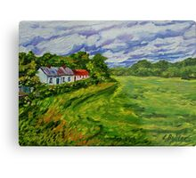"""""""Deserted Cottages on The Loup Road, near Cookstown, County Tyrone. """" Metal Print"""