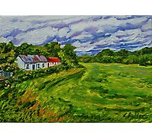 """""""Deserted Cottages on The Loup Road, near Cookstown, County Tyrone. """" Photographic Print"""