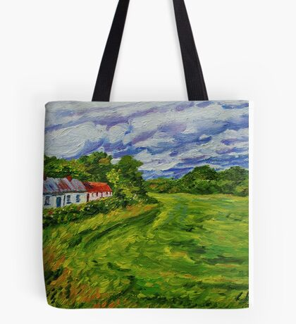 """Deserted Cottages on The Loup Road, near Cookstown, County Tyrone. "" Tote Bag"