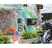 Cafe in Wynwood. Photographic Print