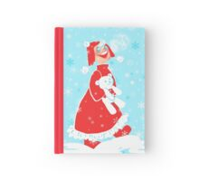 First Snow with Teddy Hardcover Journal