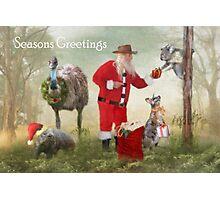 Aussie Bush Christmas Photographic Print