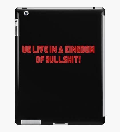 Kingdom of bullshit iPad Case/Skin