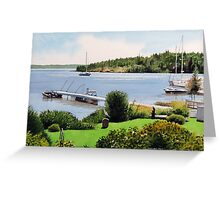 Arriving in Rossport Greeting Card