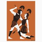 Achilles and Penthesilea T-Shirt by Philliplight