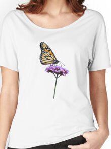 Monarch on mauve t-shirt/leggings/merchandise Women's Relaxed Fit T-Shirt
