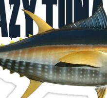 Crazy tuna fight Sticker