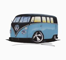 VW Splitty (11 Window) H One Piece - Long Sleeve
