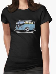 VW Splitty (11 Window) H Womens Fitted T-Shirt