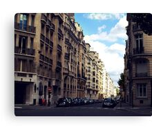 Avenue Bosqet Canvas Print