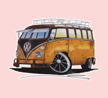 VW Splitty (23 Window) E One Piece - Short Sleeve