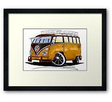 VW Splitty (23 Window) E Framed Print