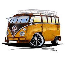 VW Splitty (23 Window) E Photographic Print