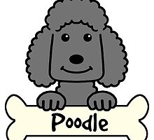 Black Poodle by AnitaValle