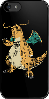 Dragonite Splatter by Colossal