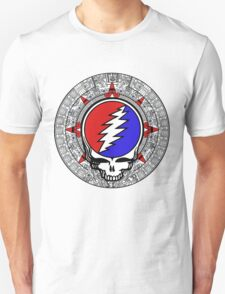 Mayan Calendar Steal Your Face - Basic Color T-Shirt