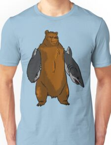 Bear with Shark Arms! - Large Unisex T-Shirt