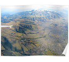 Quito landscape. Poster