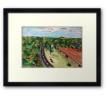 Cannon Field Framed Print