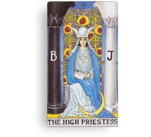 Tarot Card - The High Priestess Canvas Print