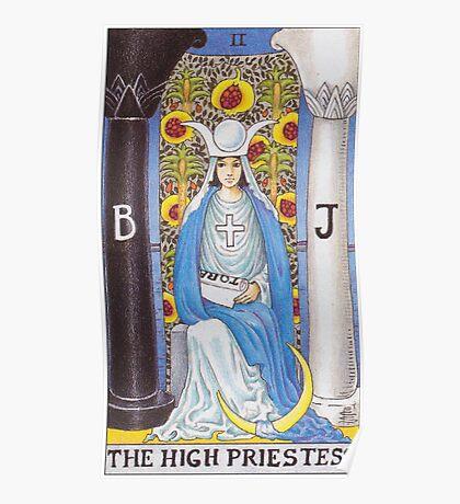 Tarot Card - The High Priestess Poster