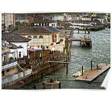 Waterfront View ~ Cobh, Ireland Poster