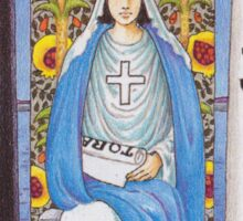 Tarot Card - The High Priestess Sticker